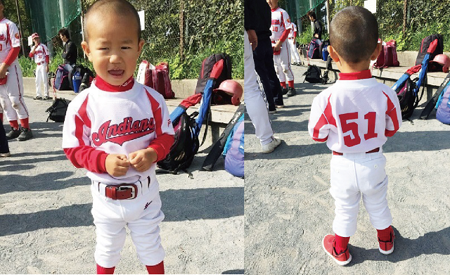 名入れ 野球ユニフォーム 子供 ジュニア